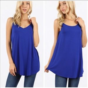 Reversible flowy camisole top